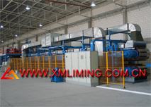 Fully Automatic Continuous PU,Phennolic,Mineral Wool sandwich panel production line