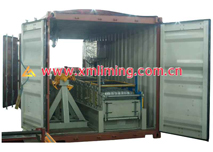 Portable Roll former 3 in 20GPcontainer