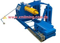 10TX1500 Hydraulic Un-Coiler with coil car (taper wedge)