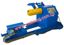 8TX650 Hydraulic Un-Coiler with coil car (taper wedge)