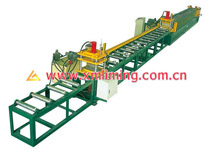 Roll Forming Machine for heat-preserving panel (box shape), Separate edge-folding