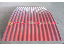 Smooth curving corrugated samples 1