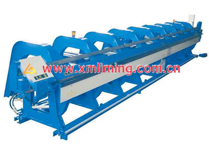 CNC slitting /folding machine (8 meters)