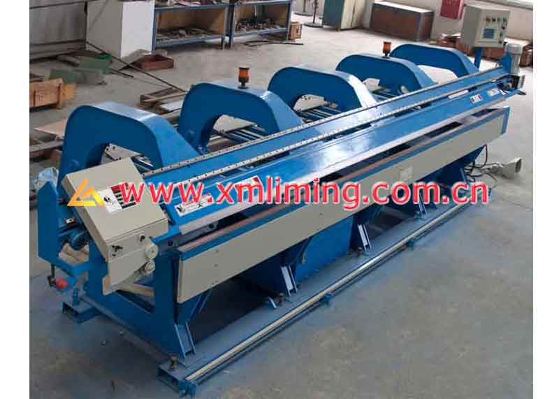 CNC slitting /folding machine (4 meters)